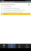Screenshot of File Explorer for Google Drive