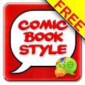 ☀ Superhero Comic Book SMS icon