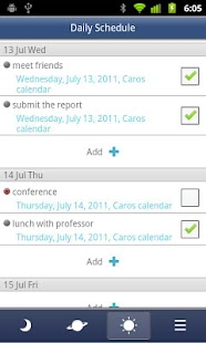 Caros Calendar(Events,Plan) - screenshot thumbnail