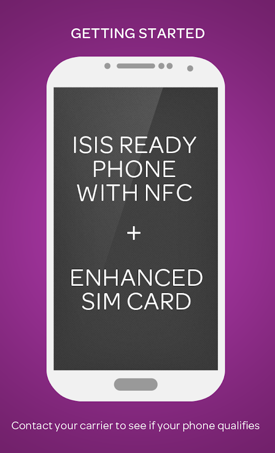 Isis Mobile Wallet - AT&T - screenshot