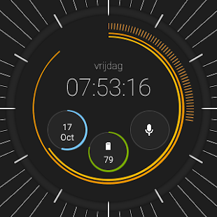 Pujie Black Watch Face Screenshot 36