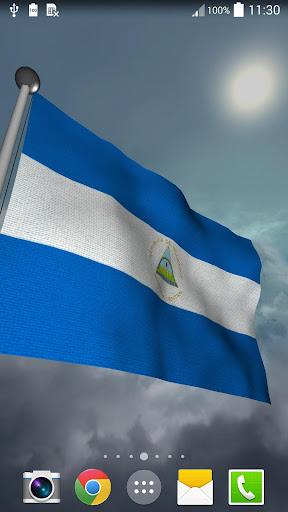 Nicaragua Flag + LWP