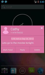 SMS Notifier (SMS Popup)- screenshot thumbnail