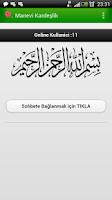 Screenshot of Manevi Kardeşlik