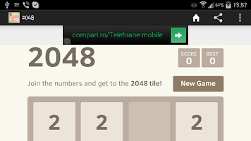 Screenshot of New 2048