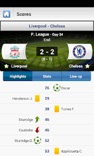 Livescore Soccer Tennis - screenshot thumbnail