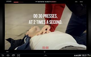 Screenshot of Lifesaver for Tablet
