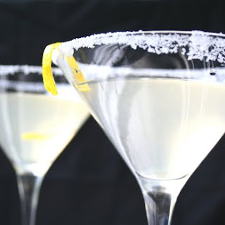 Ginger Lemon Martini.