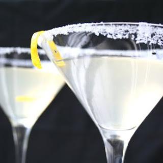 Ginger Lemon Martini.