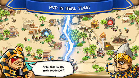 Empires of Sand - Online PvP Tower Defense Games Screenshot