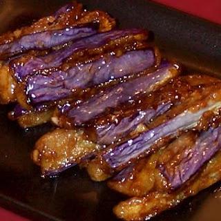 Japanese Eggplant, Teriyaki Style