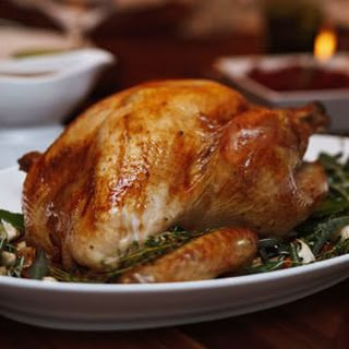 Maple-Brined Turkey with Gingersnap Gravy
