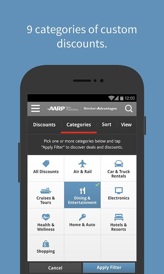 AARP Member Advantages - screenshot