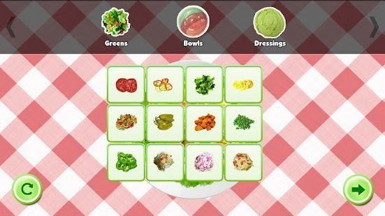 Salad Maker! - screenshot thumbnail