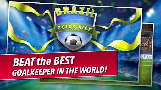 Quick Kick Brazil: 最佳点球 拍足球赛