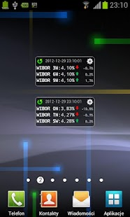 WIBOR Widget- screenshot thumbnail