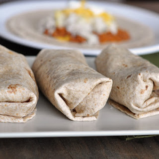 Freezer Beef and Bean Burritos.
