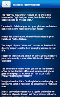 LOL Funny Status 4 Facebook - screenshot thumbnail