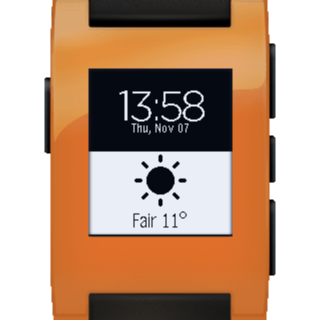 Glance for Pebble - screenshot