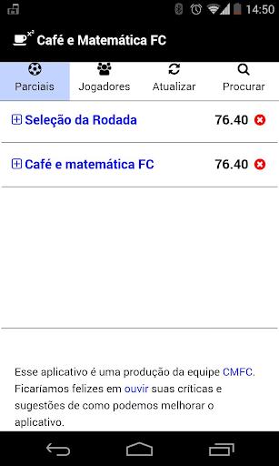 Café e Matemática FC