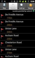Screenshot of miniBus - Live bus data