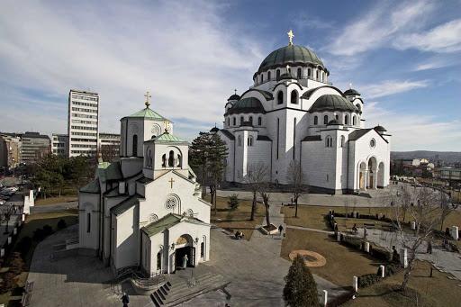 st-sava-belgrade-serbia - St. Sava Temple in Belgrade, Serbia.