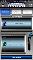 Screenshot of Positive Activity Jackpot