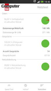 COMPUTER BILD Netztest - screenshot thumbnail