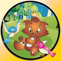 games for babies and cats icon