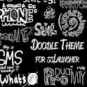 Doodle Dark Theme ssLauncher icon