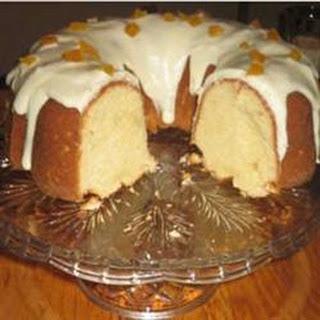 Apricot Brandy Pound Cake III