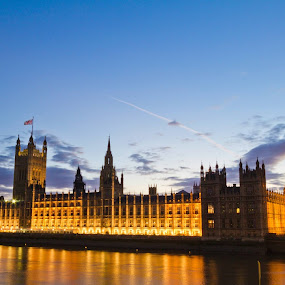 Here is a photograph I took from the UK Parliament.  Located in London, England, UK. by Michael D Beckwith - Buildings & Architecture Public & Historical