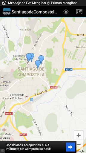 Santiago de Compostela en 1día