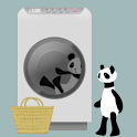 Panda washing Live Wallpaper icon