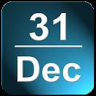 Calendario En barra de estado icon