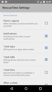RescueTime Time Management Screenshot