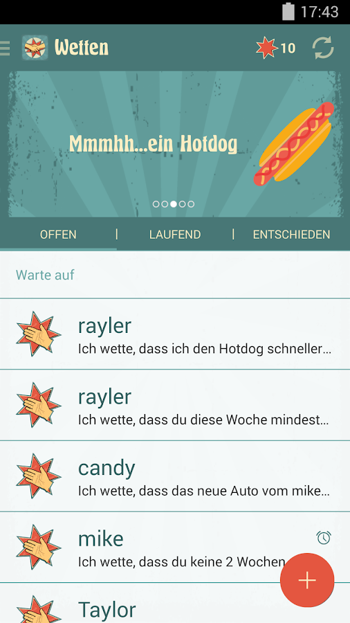 Wettma – Screenshot