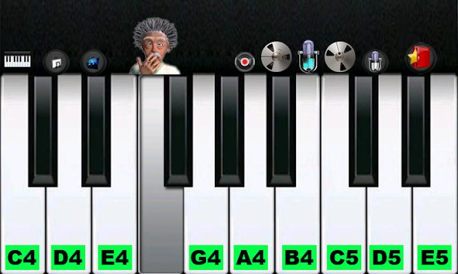 Funny Fart Piano - Einstein - screenshot