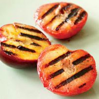 Grilled Pluots.