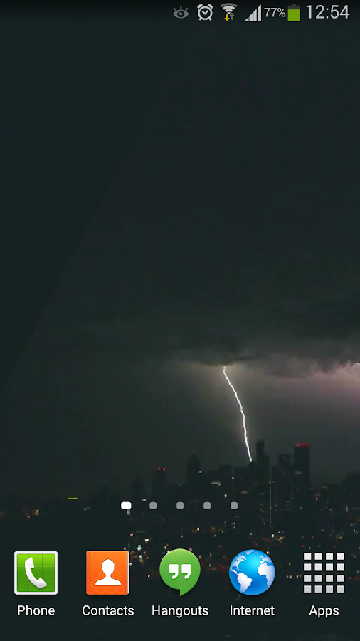 lightning live wallpaper hd 3 android apps on google play