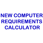 New Computer Requirements