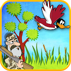 Dynasty Duck Shot Bye Bye Bird Flappy Arcade Game icon