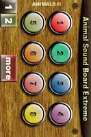 Screenshot of Animal Sound Board Extreme