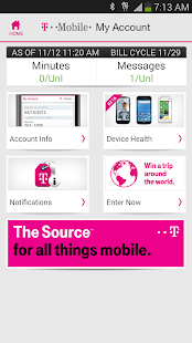 T-Mobile My Account - screenshot thumbnail