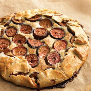 Fresh Fig and Almond Crostata