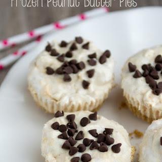 Skinny Frozen Peanut Butter Pies