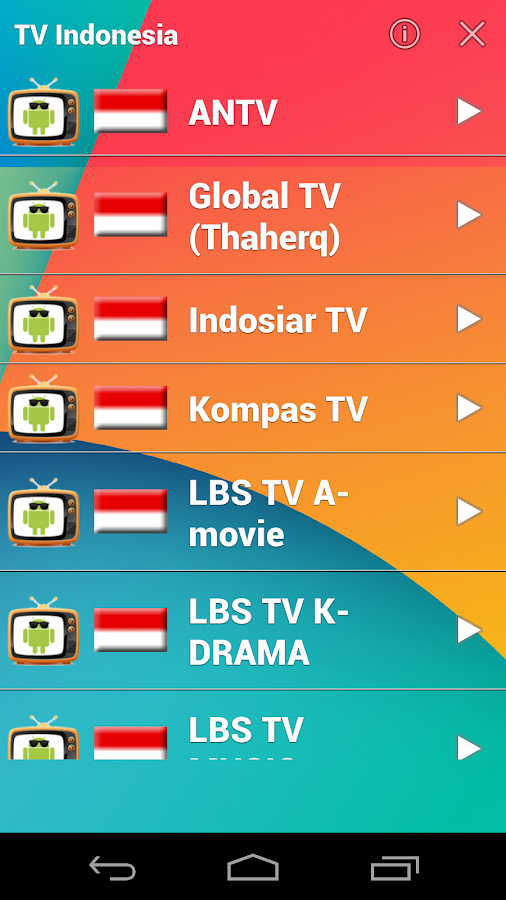 Live TV - Free TV Streaming - screenshot