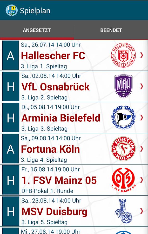 CFC-FanApp - screenshot