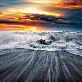 Wave Formation  by Haslam Format - Landscapes Waterscapes ( galesong;wave;landscape; )