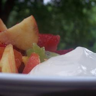 Creamy Dip for Fruit.